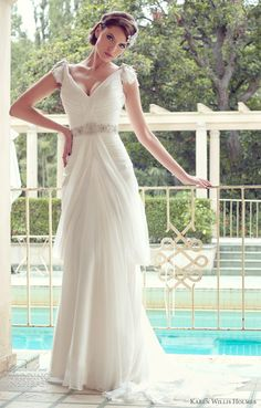 Karen Willis Holmes Wedding Dresses — Ready-to-Wear and Couture Bridal Collections | Wedding Inspirasi