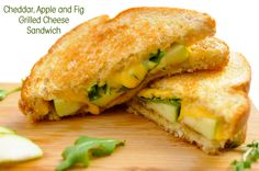 Cheddar, Apple and F