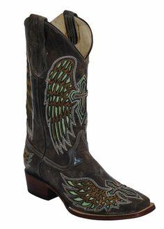 AwesomeNice Ferrini Women's Laser Angel Western Boot