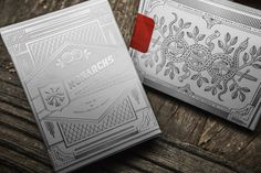 Silver Monarch Playing Cards