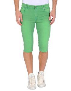 Denim capris in green by Cheap Monday. http://www.zocko.com/z/JFEdr