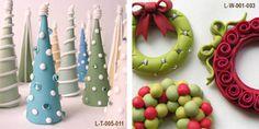 polymer clay christmas ideas - Google Search