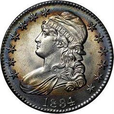 Early Halves - 1834 50C MS
