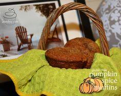gluten free muffins: spiced pumpkin - gf and me Gluten Free Muffins, Gluten Free Desserts, Gluten Free Recipes, Pumpkin Spice Muffins, Spiced Pumpkin, Substitute For Egg, Gluten Free Pumpkin, Celiac Disease, Classroom Activities