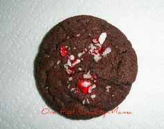 Chocolate Cake Mix Cookies w/Peppermint