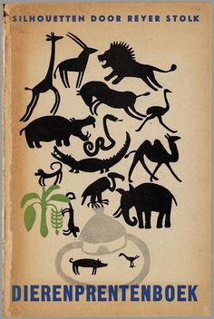 Animalarium: Reyer Stolk, Silhouetten, 1945, thanks to BibiliOdissey