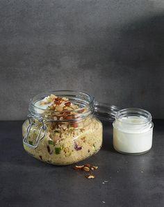 Rezept:   Zucchini-Couscous