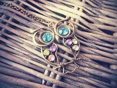 Wool'n'Knit: Les colliers et bracelets noeud et le sautoir hiboux