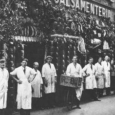 1938 - Un giovanissimo imprenditore di origine Umbra, Remo Brunelli, riconosce nel Pecorino Romano (tipico formaggio di Roma) delle qualità organolettiche uniche, decidendo di avviarne la commercializzazione. Nasce la Ditta Remo Brunelli.