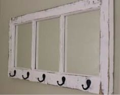 Upcycling from old windows; lots of projects to reuse old windows and frames.