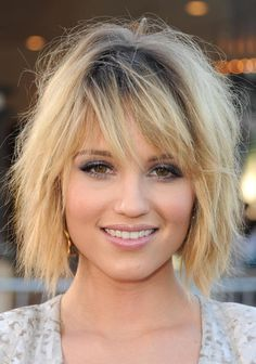 26 of the Most Amazing Shag Hairstyles: Dianna Agron