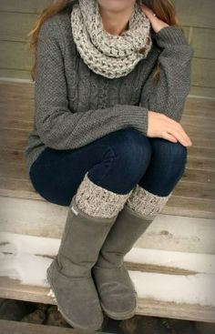 Cute and comfy fall/winter outfit!