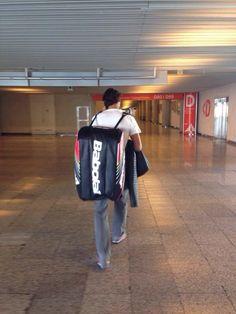Rafa Nadal 1 May  2014  De camino a Madrid...  On the way to Madrid...