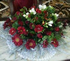Fleur naturelle pour centre table