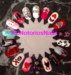 Follow me and my work on IG: Notoriosnails