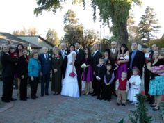 Wedding part in the gardens at Watters GC