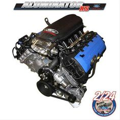 Find Ford Racing 5.0L Aluminator XS Crate Engines M-6007-A50XS and get Free Shipping on Orders Over $99 at Summit Racing!  Add the high performance of Ford Racing 5.0L Aluminator XS crate engines to your special Mustang build. Hand-assembled for power, Aluminator XS 500+ hp DOHC engines start with the lightweight aluminum cylinder block featuring cross-bolted main bearing caps and thick main bearing bulkheads for bottom-end strength. They use advanced Ti-VCT to deliver big power and are…