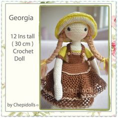 CROCHET DOLL ♡ by chepidolls on Etsy