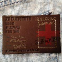leather label / vintage tekstil                                                                                                                                                     More
