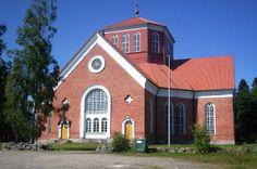 Lappfjärd/Lapväärtti church, Finland. - photo Jari Laurila