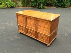 Vintage,Antique Chic,cedar trunk ready to be painted by Michelle's Home Decor.More inventory on my website.