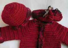 baby boy sweater baby sweater set baby sweater crochet newborn sweater baby cardigan baby girl newborn baby gift set TillieLuvsTreasures