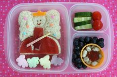 Back To School Lunch idea- Princess lunch for #backtoschool