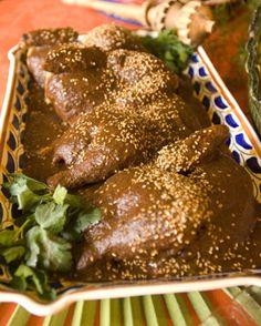 Pollo mole de Puebla