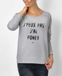 Dépêchez-vous d'aller découvrir le nouveau sweat-shirt Pourquoi faire compliqué par Madame T-SHIRT sur notre e-shop - LIVRAISON GRATUITE en France
