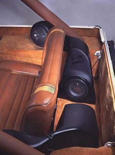 All Things Jeep - Quad-Pod Sound System for 1996-2006 Jeep CJ, YJ, TJ Wranglers (without speakers)