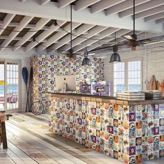 Perfect tile for our west coast life style found @stonesystems.us #featurewall #sandiegointeriordesign #sandiego #hospitalitydesign #aloha #interiordesign #tileaddiction #ocinteriordesigner by stonesystems.us
