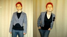 Twin-set: shirt and little jacket, from sadness to elegance