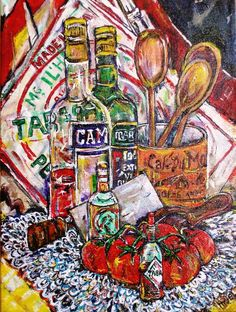Billy Hedel, Tomatoes and Tabasco, $225 Arts Council of Southwestern Indiana 318 Main St. in downtown Evansville