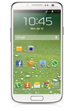 Leaked press shot of Samsung Galaxy S IV http://androidos.in/2013/01/samsung-galaxy-s-iv-launching-on-march-22/