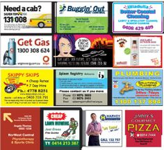 Custom Fridge Magnets design and making services in Adelaide. So what better place to promote your service or business than a prominently displayed fridge magnet slap...