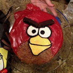 Angry Birds Cake - Homemade!