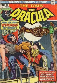 Tomb of Dracula #18 - Enter: Werewolf by Night