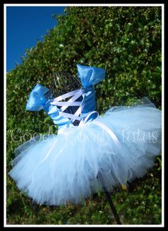 THE GLASS SLIPPER Cinderella Princess Inspired by goodygoodytutus, $85.00