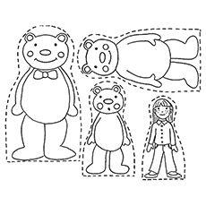 Dollar Tree Strainers Made Into Goldilocks And The Three Bears Masks