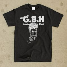 bf0eb4948 Charged Gbh G.B.H Rockabilly T-Shirt Shirt Crass Rockabilly