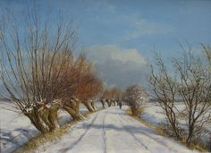 rt Gallery, Bussum Dutch Painters, Wonderful Picture, Jack Frost, Portland, Winter, Netherlands, Art Work, Beautiful Places, Art Gallery