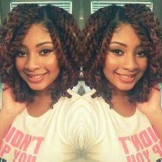 Short Havana Twists with Marley Hair by belinda