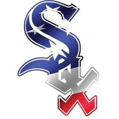 Chicago White Sox Mlb Team Logos, Mlb Teams, Baseball Teams, Sports Logos, White Sox Logo, White Sox Baseball, Buster Posey, Tampa Bay Rays, Home Team