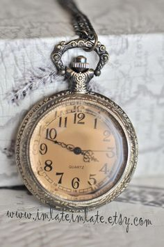 Large Bronze Pocket Watch For Centrepieces £34.45 For 5
