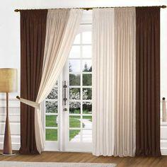 cortinas cortinas con cenefa cortinas marrones cenefas diseos de cortina ideas de cortina dormitorio ideas casa de los nios el chocolate