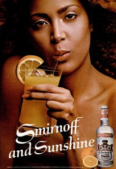 Smirnoff Vodka ad, Jet, February 15, 1982