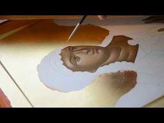 St Michael icon by Rade Pavlovic 5/8 #art #icons #christianity #videos