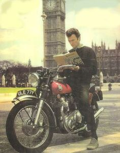 clint eastwood norton motorcycle - Google Search