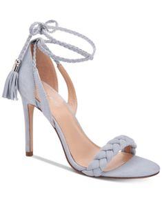 BCBGeneration Jessica Lace-Up Dress Sandals - Cornflower Blue Blue Sandals, Lace Up Sandals, Dress Sandals, Black Friday Shoes, Pumps Heels, High Heels, Flip Flop Shoes, Flip Flops, Minimalist Shoes