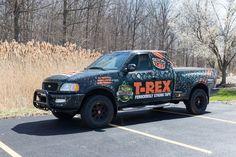 Strong Tape, T Rex, Monster Trucks